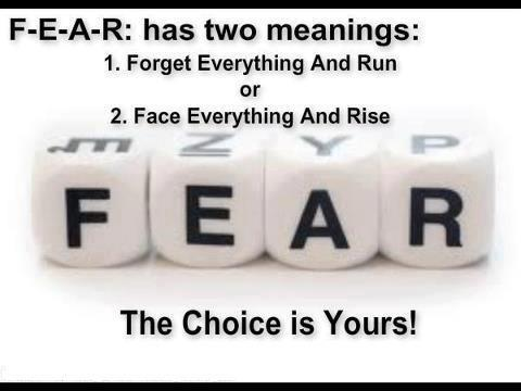 The Fear Trap: the choice is yours!