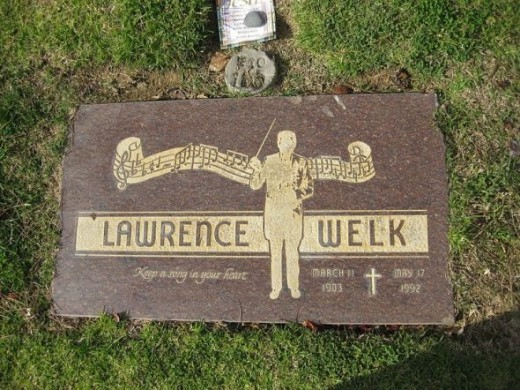 Grave of Lawrence Welk