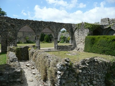 The Ruins of Beaulieu Abbey, Hampshire