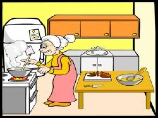 Old fashioned cooking