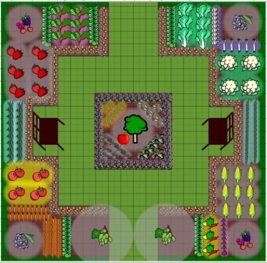 Software to help you design your vegetable garden
