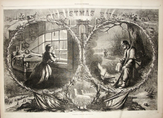 Christmas Eve - Thomas Nast