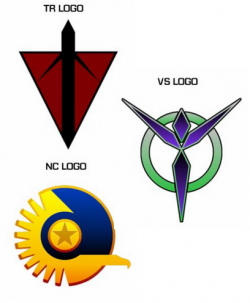 planetside-2-faction-logos