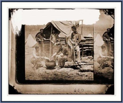 Civil War - South at Christmas
