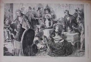 Eggnog Party in the South - Thomas Nast