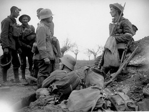 A Christmas Truce - WWI