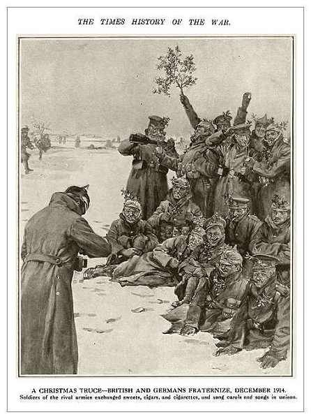 World War I - 1914 Christmas Truce
