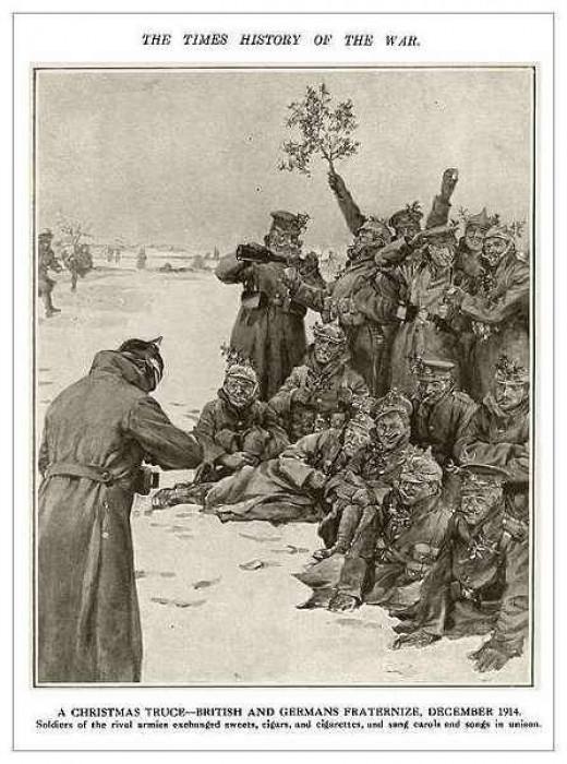 World War I - 1914 Christmas Truce