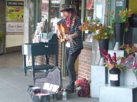 Pike Place Market Street Musician