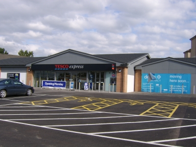 The Former Cascade Pictured the Day Before it Opened as a Tesco Express (Photo taken 5th September 2010)