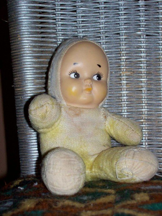 Did you have a special doll when you were a kid?