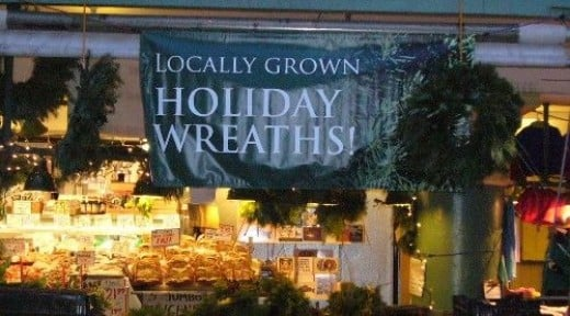 Fresh Holiday Wreaths