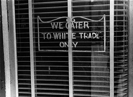White Trade Only Sign