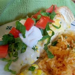 AllRecipes user homeschooler3 took this photo of Whit's Enchiladas that she prepared.