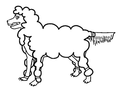 Wolf coloring pages (fictional)