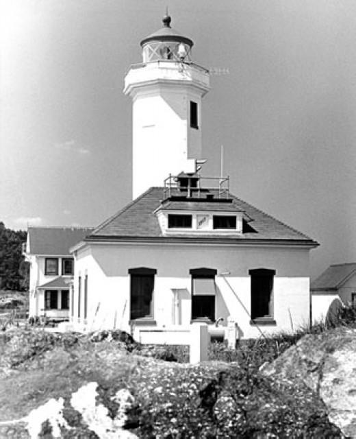 Point Wilson Lighthouse, Washington State 1914