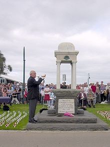 Anzac Day in Port Melbourne (Open Source)