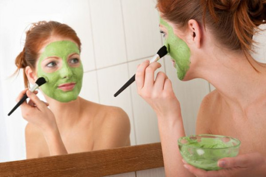 1 face mask a week keeps wrinkles away!