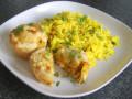 Turkey Curry Mini Puff Pastry Pies Recipe