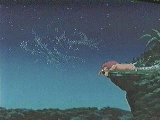 Do you see a word camouflaged in the stars? According to Snopes.com, a 4-year old may have been the first to discover this hidden image in Disney's Lion King movie - for all four shots featured in the moving scene, visit the source material http://ww