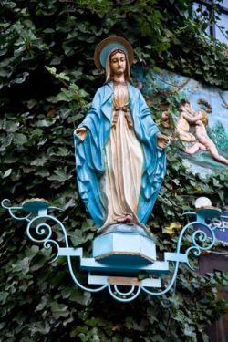 Cathjolic Icon based on the Sun as Mother God