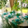 Turquoise China Dinnerware