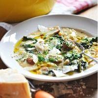 Potato Turnip Bean Kale Soup