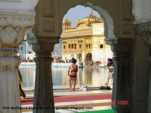 Golden Temple in Amritsar, Punjab