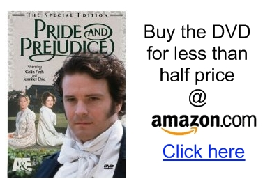 Pride and Prejudice miniseries DVD