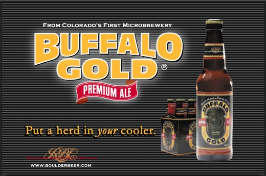 Buffalo Gold:  The (not) Official Beer of the University of Colorado Buffalos