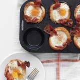 Bacon, Egg, and Toast Cups from www.marthastewart.com