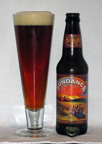 Boulder's amber ale: Sundance.  (image from:  flickr.com)