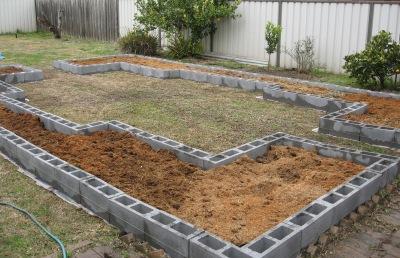 setting up the crop rotation veggie garden