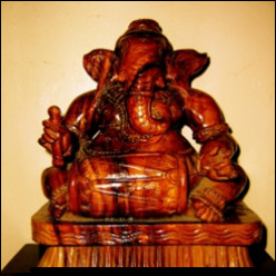 Ganesha the God