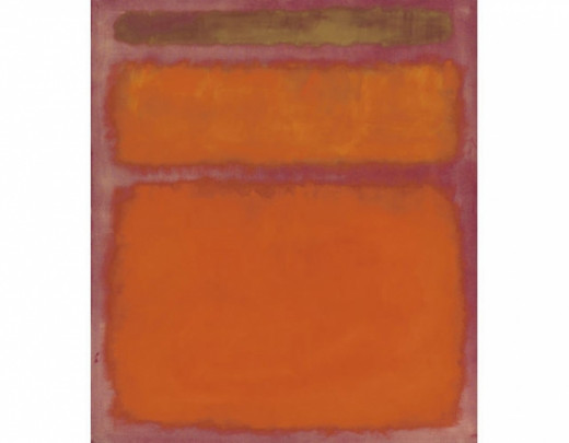 Orange, Red, Yellow (1961). Sold at Christies for $86,882,500