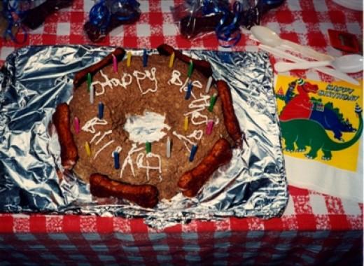 Bill and Kandi's Birthday Cake