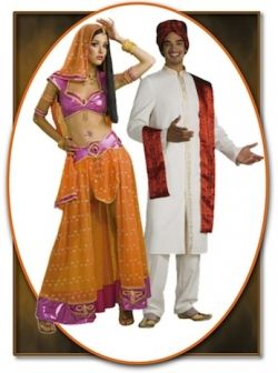 Bollywood Couples Halloween Costumes