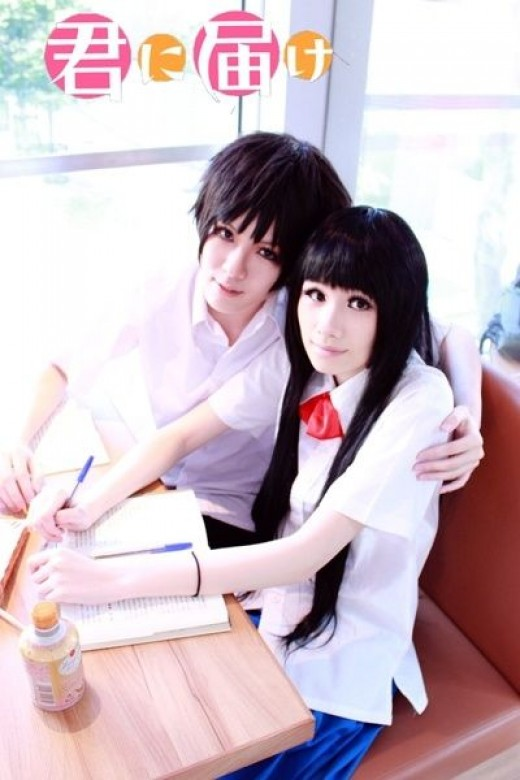 Kazehaya and Sawako Cosplay