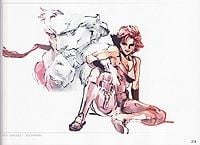 """Artwork from the """"MGS:Guns of the Patriots"""" The Complete Official Guide"""