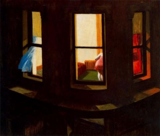 Night Windows Edward Hopper 1928