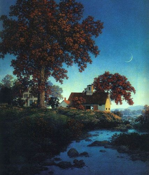 """""""New Moon"""" Parrish Maxfield"""