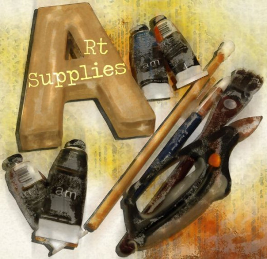 Used Art Supplies