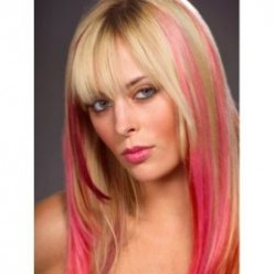 Colored Hair Extensions - Chic and Easy to Use - Be Original !