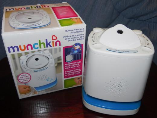 Munchkin Nursery Projector Sound System