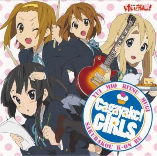 1.Cagayake! Girls