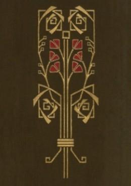 Detail of an Arts & Crafts floral motif.