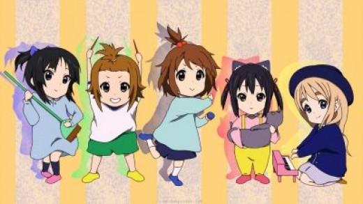 K-ON Members - Child Version