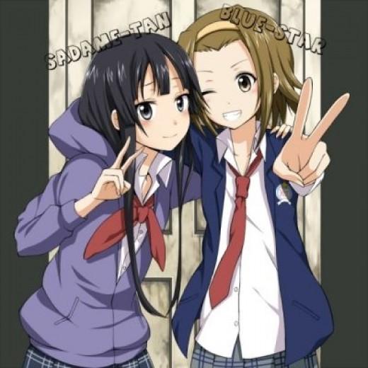 Mio & Ritsu !
