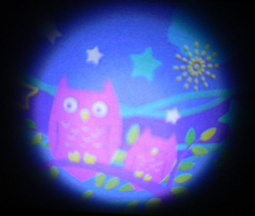 I love owls, so this is one of my favorite scenes. Also part of the Sky Projection lens