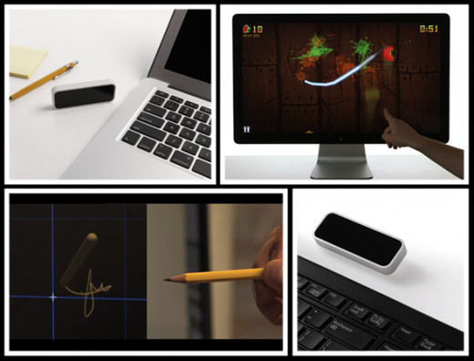Leap Motion-Sensing Touch-Free Technology